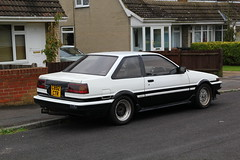 1985 Toyota Corolla Levin (charlie cars) Tags: c892ctr c892 ctr