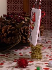 Baby's First Christmas (4) (GATACA1952) Tags: embroidery christmas nol ornament pillow evenweave opalescent kreinik dmc beads baby pram stroller victorian candycane teddybear millhill crossstitch