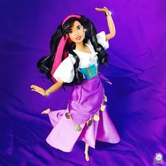The finest girl in France! Dance Esmeralda!  Review on my YouTube channel! (jlantistoys) Tags: gypsy disneydolls disneyprincess princess review hunchbackofnotredame notredame hunchback quasimodo disneystore dolls doll waltdisney esmeralda 90s barbie mattel disney