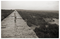 old stuff 392 (beauty of all things) Tags: frankreich france oldstuff sw bw analog pontdugard