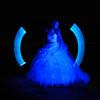 Blue Angel (Rodney Campbell) Tags: ocean lightpainting beach water bride model australia newsouthwales forresters forrestersbeach