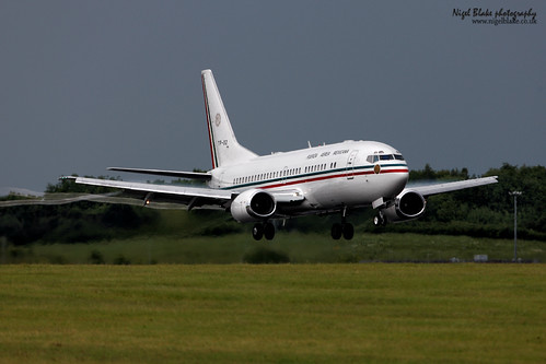 XC-UJB Mexican Air Force Boeing 737-33A TP-02