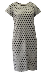 Weekend by MaxMara Dear grey spotty dress (Young Ideas) Tags: fashion grey dress spotty maxmara youngideas weekendbymaxmara