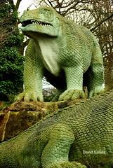 Dino 004 - David Salliss (David Salliss) Tags: old history interesting education flickr unfound naturalhistory educational monsters past sculptures dinosaurs reptiles dayout dated davidsalliss