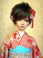 2012 kimono (ein yu) Tags: kimono bjd wu ein rituka elfdoll