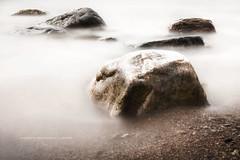 Seven (martin fredholm) Tags: longexposure sea summer water june sweden stones shore hdr bohusln tonemapped 2013 nd110 ottern