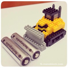 nanoblock Bulldozer (inanoblock) Tags: building cute art toy construction lego bricks blocks build bulldozer nanoblock  nanoblocks