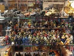 Hasbro  Vintage 3 3/4 G I Joe  Finally Displayed!!  1 (My Toy Museum) Tags: vintage cobra joe hasbro 334