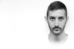 (Damien Cox) Tags: uk gay portrait blackandwhite bw selfportrait man male me self ego myself beard mono nikon masculine moi homosexual grayscale scruff stubble i damiencox dcoxphotographycom