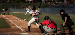 All Eyes on the Ball (SarahBurnagePhotography) Tags: red usa sport ball georgia movement baseball action mit bat swing ballgame ca