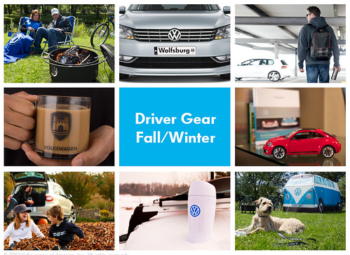 Top 10 items from Fall/Winter Volskwagen DriverGear Catalog