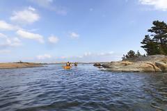 Höstpaddling utanför Rävsten 2013 (Anders Sellin) Tags: autumn vacation sweden stockholm adventure kayaking sverige paddling höst archipelago kajak gräsö skärgård rävsten paddla ytterskärgård