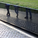 Maya Lin, Vietnam Veterans Memorial, reflection of visitors