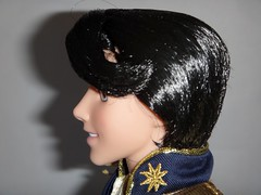 Limited Edition Prince Eric 18'' Doll - US Disney Store Purchase - First Look - Deboxed - On Display Stand - Closeup Right Side View #2 (drj1828) Tags: standing us purchase limitededition disneystore firstlook thelittlemermaid princeeric 2013 productinformation deboxed le1500