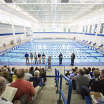 """<b>Aquatic Center Dedication of Service_100413_0049</b><br/> Photo by Zachary S. Stottler Luther College '15  <a href=""""http://farm6.static.flickr.com/5488/10095586784_a4a0eea099_o.jpg"""" title=""""High res"""">∝</a>"""