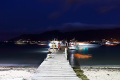 Barcos (Bruno Fraiha) Tags: sea praia beach boats lights boat photo nocturnal barcos noturna bfs bfstudio brunofraiha bfraiha wwwbrunofraihacombr
