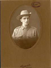 Number 2331 SIMPSON, Bryce (State Records SA) Tags: portrait blackandwhite sepia soldier army war uniform military south wwi australian australia worldwari imperial worldwarone historical sa ww1 greatwar southaustralia glenelg simpson anzac regiment lehavre aif thegreatwar 19141918 unleypark australianimperialforces southaustralian australianimperialforce srsa historicalportrait staterecords grg2654 staterecordsofsouthaustralia staterecordsofsa brycesimpson salvagesection