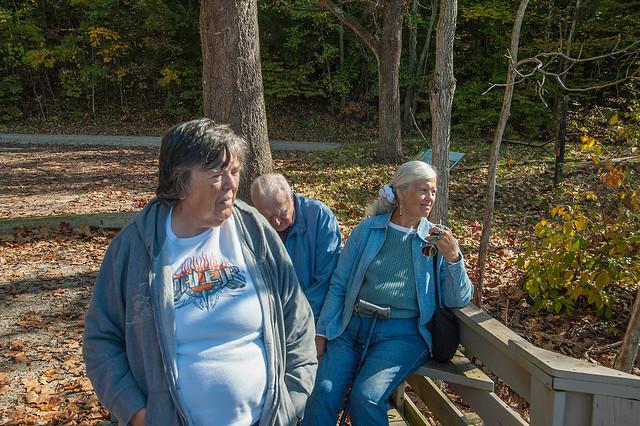 Endwright Center - Fall Colors Ecotour - Stillwater Marsh - October 2013