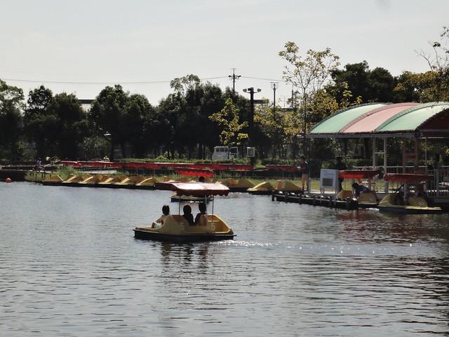 足こぎボート|海南こどもの国