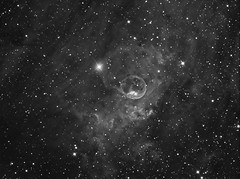 The Bubble Nebula in H-Alpha (NGC7635) (Terry Hancock www.downunderobservatory.com) Tags: camera sky monochrome night stars photography mono pier backyard fotografie photos space shed 11 science images astro observatory telescope nebula astrophotography bubble astronomy imaging 12 ccd universe f8 162 cosmos technologies palette paramount hubble luminance caldwell hst lodestar teleskop astronomie byo cassiopeia deepsky ngc7635 narrowband astrograph sharpless autoguider starlightxpress astrotech Astrometrydotnet:status=solved ritcheychrétien mks4000 gt1100s qhy9m qhy11 Astrometrydotnet:id=supernova10989