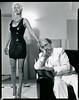 Fay & Ken at Home, Milwaukee, WI 1994 (shimonandlindemann) Tags: fatigue rubberdress whitetuxedo