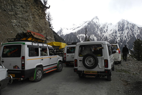 Climbing the Zoji Pass - Kashmir