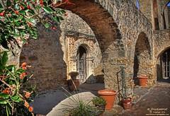 Side entrance into the Mission San Jos, San Antonio Texas (PhotosToArtByMike) Tags: sanantonio texas arch sanantoniotexas missionsanjos missiontrail sanantoniomissions sanantoniomissionsnationalhistoricalpark missionsanjosysanmigueldeaguayo archedwalkway