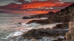 South Coast Oct 2013-1 (Ian Moore Photo) Tags: sunrise point nikon seascapes potato d800