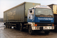 C689ASP LEYLAND ROADTRAIN  SCOTFLOW LTD (Mark Schofield @ JB Schofield) Tags: trucks wagons leyland roadtrain t45 jimtaylor roadtransport commercialvehicles roadhaulage roadhauliers scotflow