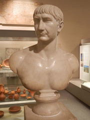 Trajan (Suede Bicycle) Tags: statues britishmuseum romans busts romanhistory romanemperors