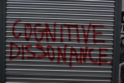 Cognitive dissonance by KylaBorg, on Flickr