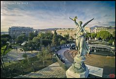 Nice vue du ciel en drone, Victoire Aile (Drone In Nice) Tags: voyage travel sky tourism landscape aerialview ciel uav paysage tourisme drone vuearienne