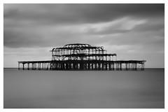 Brighton Pier - X-Pro1 Long Exposure (leftofnever) Tags: street beach sussex brighton fuji fujifilm xpro1