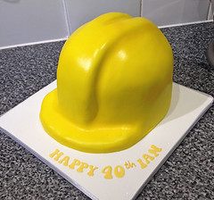 Hard Hat Cake