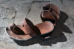 accoutrements (Kalense Kid) Tags: france shoes sandals study alternet summerschool 2013 peyresq