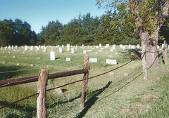 15. Yoder's simple Amish cemetery, east of Yoder, 9 5 04 (leverich1991) Tags: haven 2004 hope exploring north mount harvey kansas patterson reno newton hutchinson sedgwick yoder halstead hesston burrton