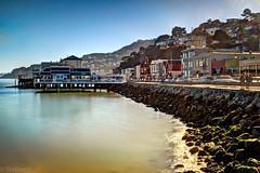 Coastal Bliss (BlindThirdEye) Tags: sanfrancisco longexposure 35mm pacificocean goldengatebridge fujifilm sausalito hdr coastaltrail pacificcoast cityskyline x100s