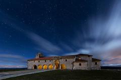 (Explore) (raul_lg) Tags: longexposure sky espaa night clouds canon stars noche spain iglesia cielo nubes estrellas nocturna ermita iluminacion linterna mark3 largaexposicion castillayleon canon163528 raullopez canon5dmarkiii raullg