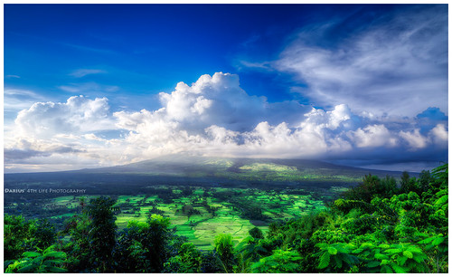 Landscape around Mayon