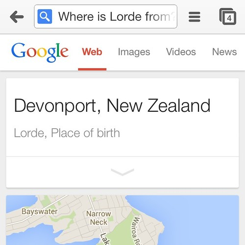 Jonny Travels | Lorde is on the radio all the time down here so I asked Google where she