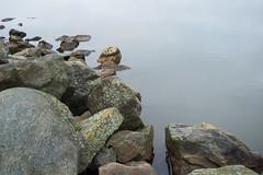 Stone Line (Gikon) Tags: water nikon rocks stones line simplicity 1855mm minimalism simple minimalistic gikon d3100