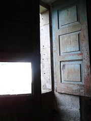 old shutters still hanging on this window (Lilith In tenebris ) Tags: house portugal chapel haunted frazo