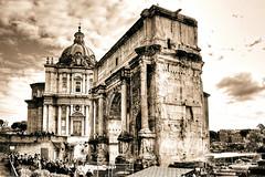 Arco de Septimio Severo (Francisco Esteve Herrero) Tags: roma arco hdr ruby3 2013 arcodeseptimiosevero hdraward flickrstruereflection1 franciscoesteveherrero