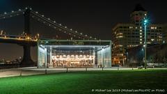 Jane's Carousel - 12/26/13 (P1250299) (Michael.Lee.Pics.NYC) Tags: park bridge newyork ferry brooklyn night long exposure manhattan voigtlander dumbo carousel empire fulton nokton janes 175mm
