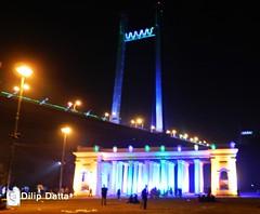 Princep Ghat Monument  .. Kolkata (Dilip Datta) Tags: kolkata princepmemorial dilipdattasphoto