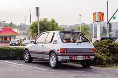 Peugeot 205 GTI (Europe Domestic) (InSapphoWeTrust) Tags: california usa losangeles unitedstates unitedstatesofamerica northamerica peugeot lapuente haciendaheights peugeot205 hsilaitemple