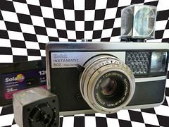 Kodak Instamatic 500 (1965) (Angela Towndrow) Tags: camera film kodak instamatic flashcube