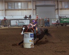 Bar None Jr Rodeo (Garagewerks) Tags: horse girl sport female youth bar turn cowboy all none sony barrel sigma indoor jr racing arena burn rodeo cans cowgirl athlete f28 equine 2875mm views100 slta65v