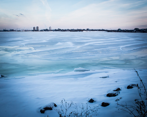 Frozen Hamilton Harbour