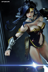 The world is ready for you. (Toy Photography Addict) Tags: toys wonderwoman actionfigures dccomics justiceleague pak dianaprince toyphotography playarts playartskai clarkent78 jeffquillope toyphotographyaddict playartswonderwoman